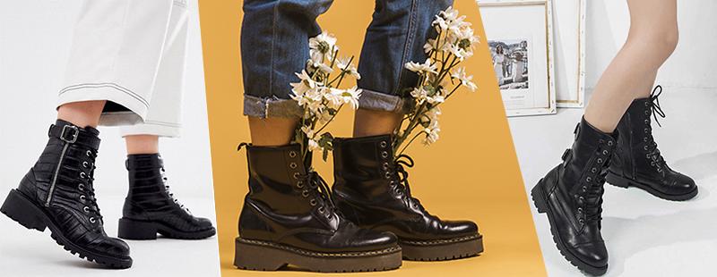 От солдат до модниц: изучаем самую модную обувь сезона – ботинки